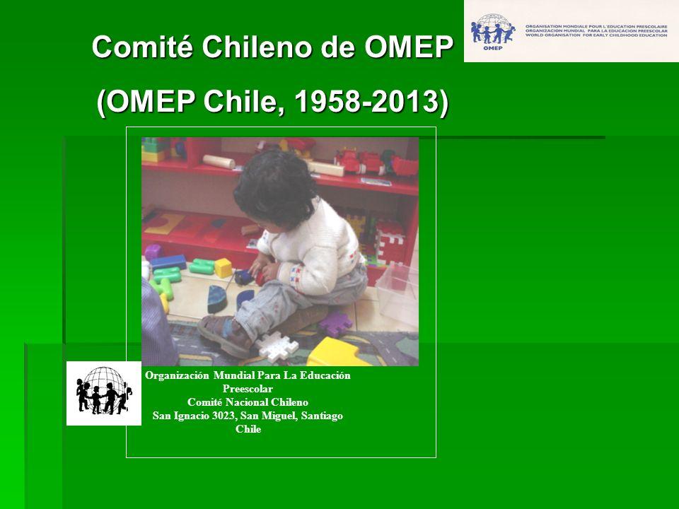 Comité Chileno de OMEP (OMEP Chile, 1958-2013)