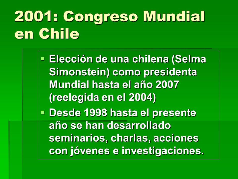 2001: Congreso Mundial en Chile