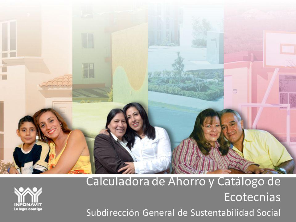 Calculadora de Ahorro y Catálogo de Ecotecnias