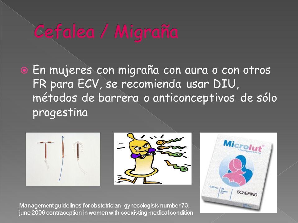 Cefalea / Migraña