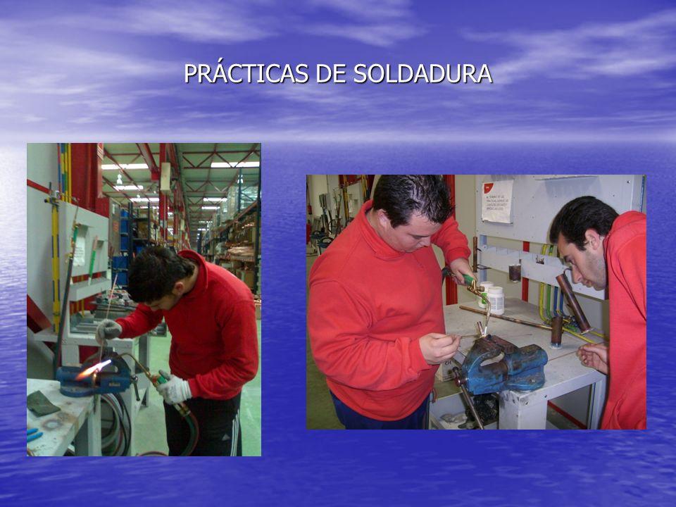 PRÁCTICAS DE SOLDADURA