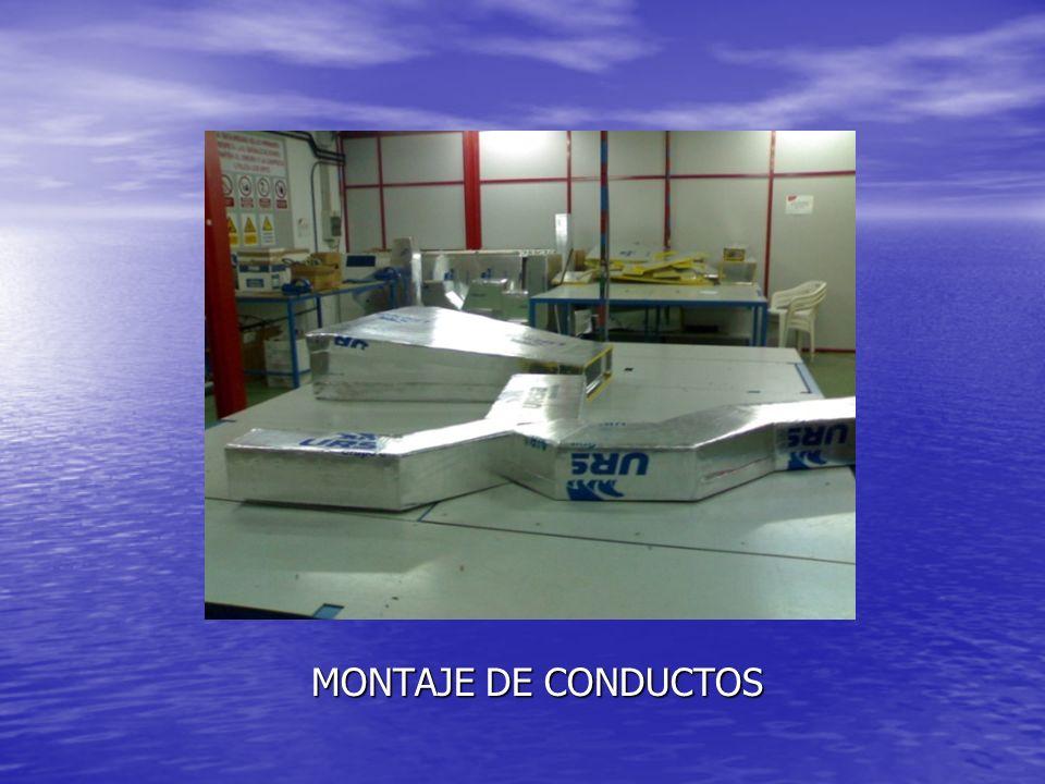 MONTAJE DE CONDUCTOS