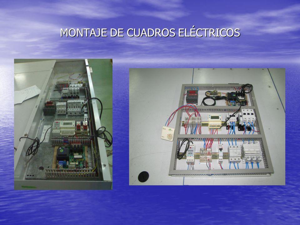 MONTAJE DE CUADROS ELÉCTRICOS