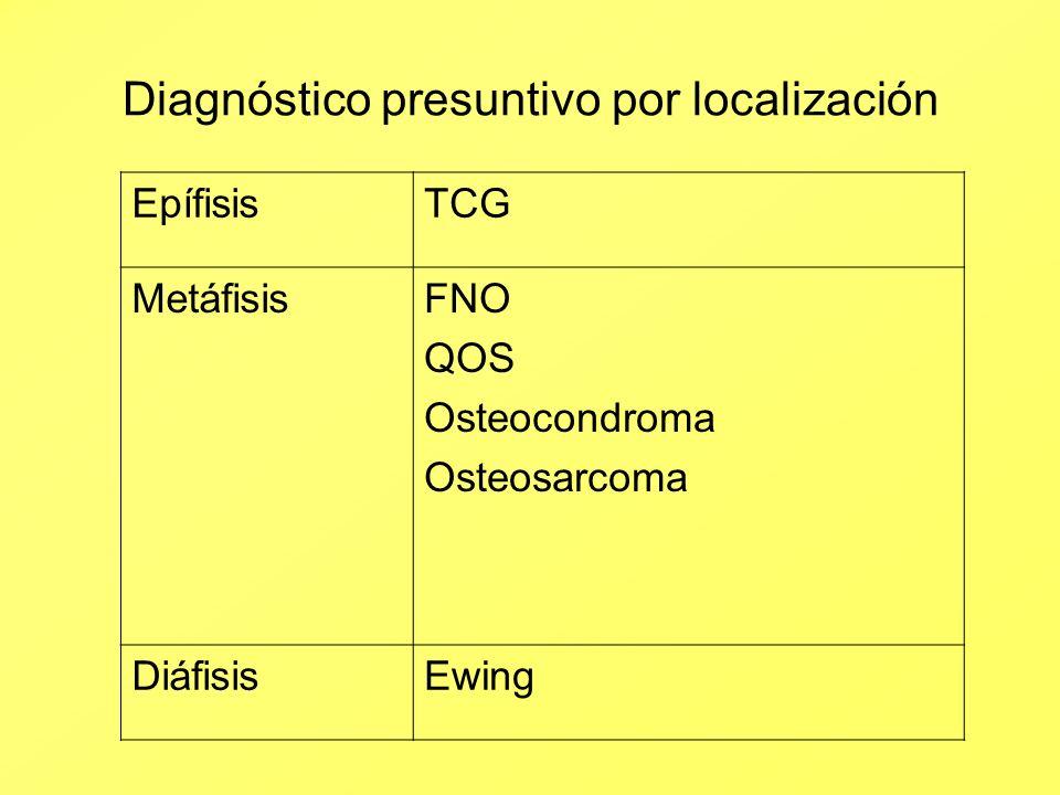 Diagnóstico presuntivo por localización