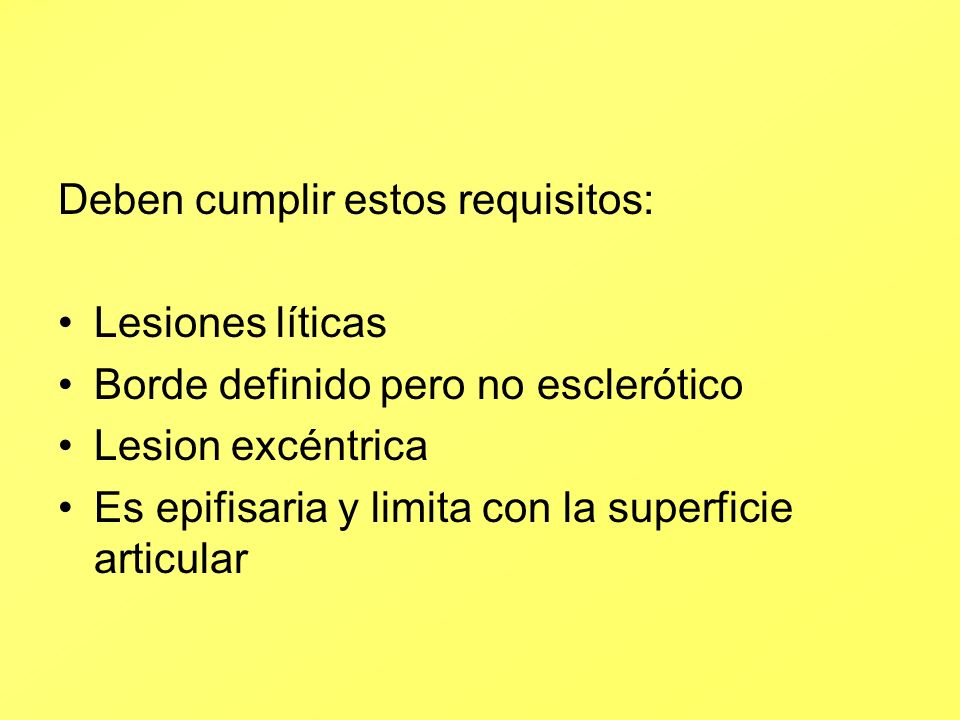 Deben cumplir estos requisitos: