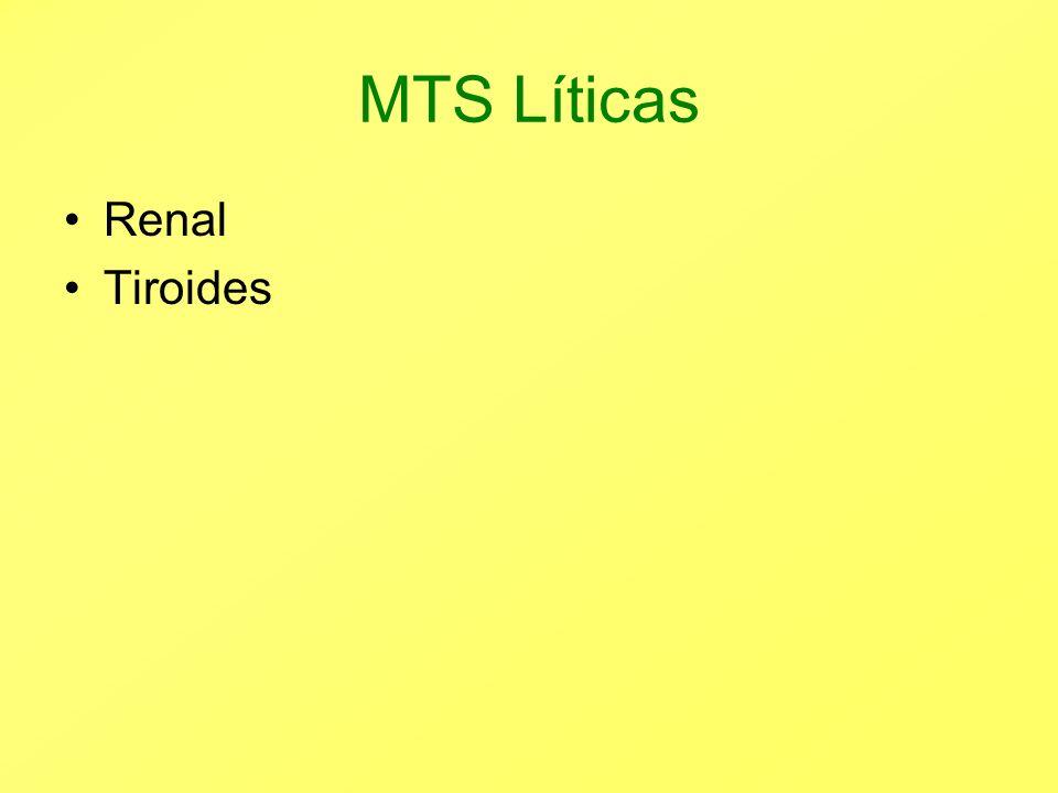 MTS Líticas Renal Tiroides