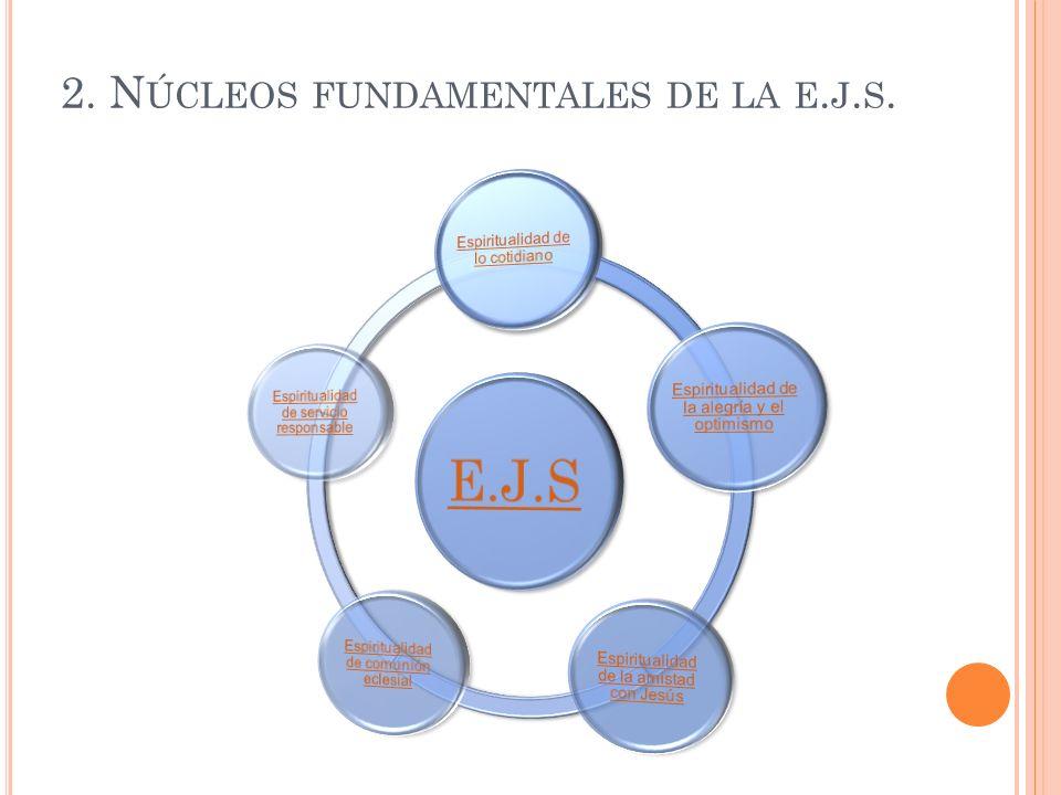 2. Núcleos fundamentales de la e.j.s.