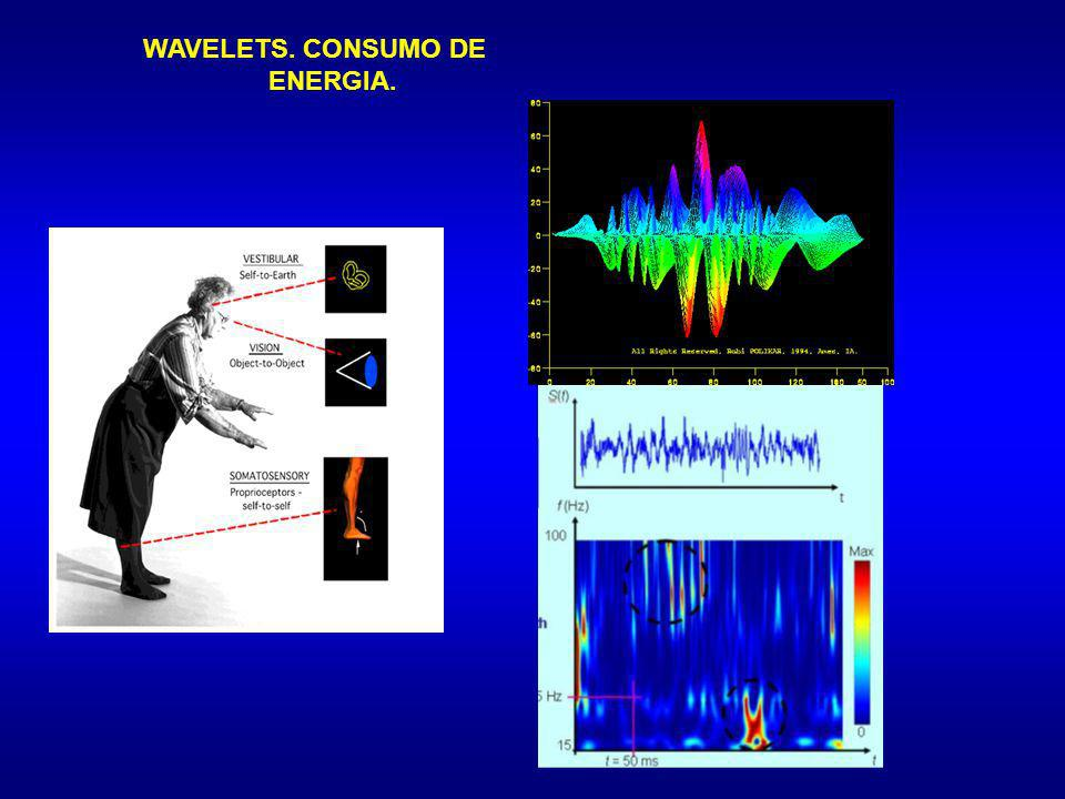 WAVELETS. CONSUMO DE ENERGIA.