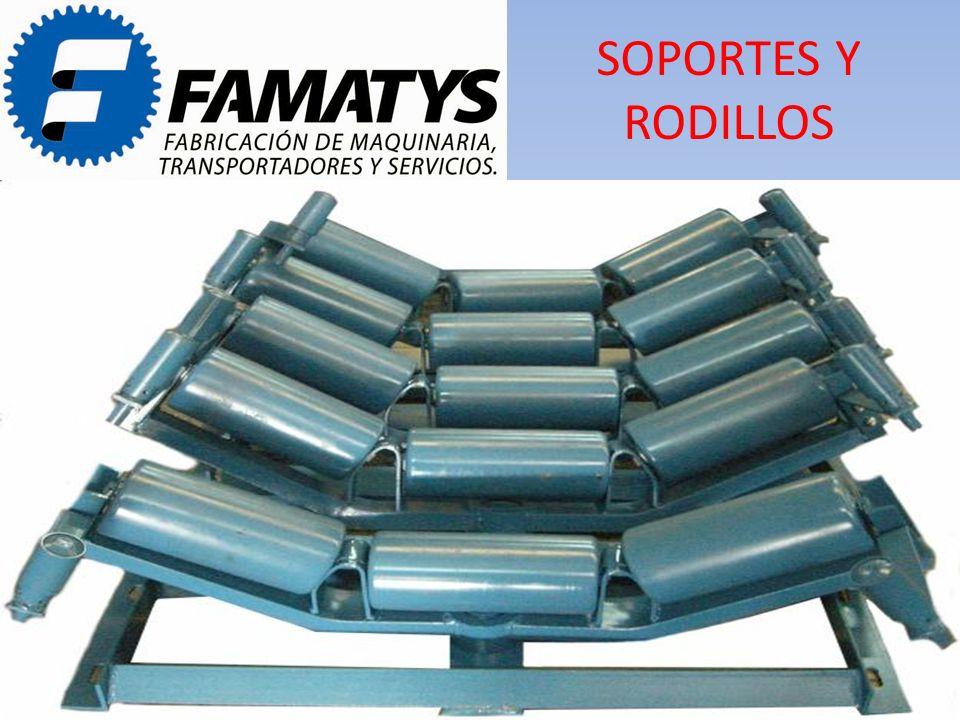 SOPORTES Y RODILLOS