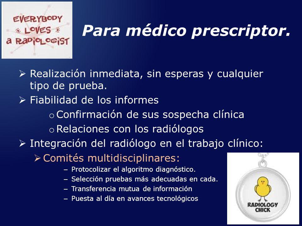 Para médico prescriptor.