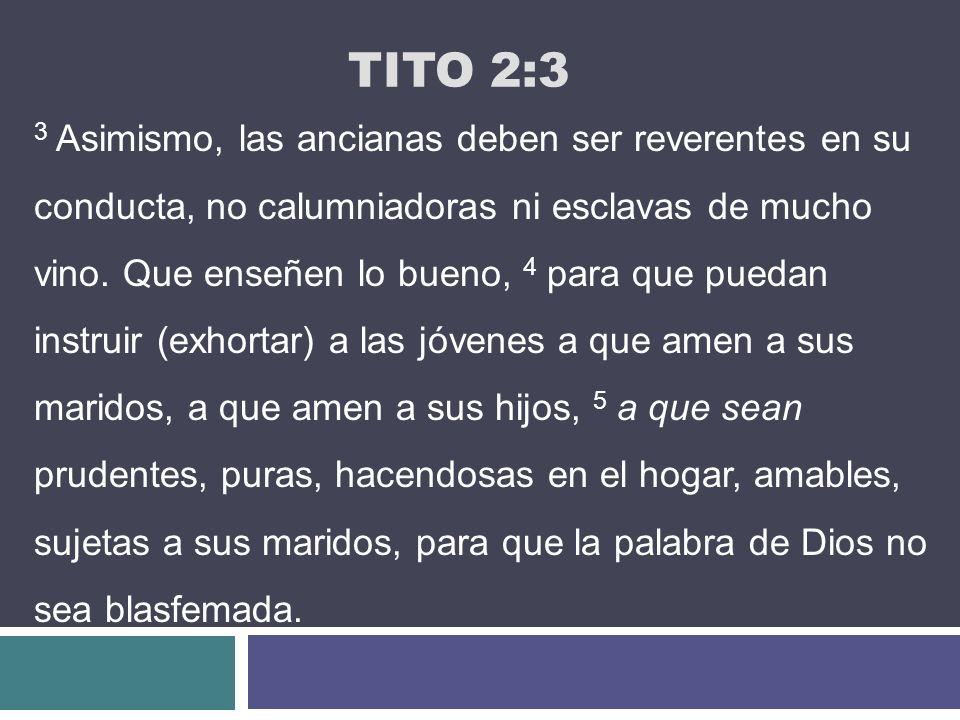 Tito 2:3