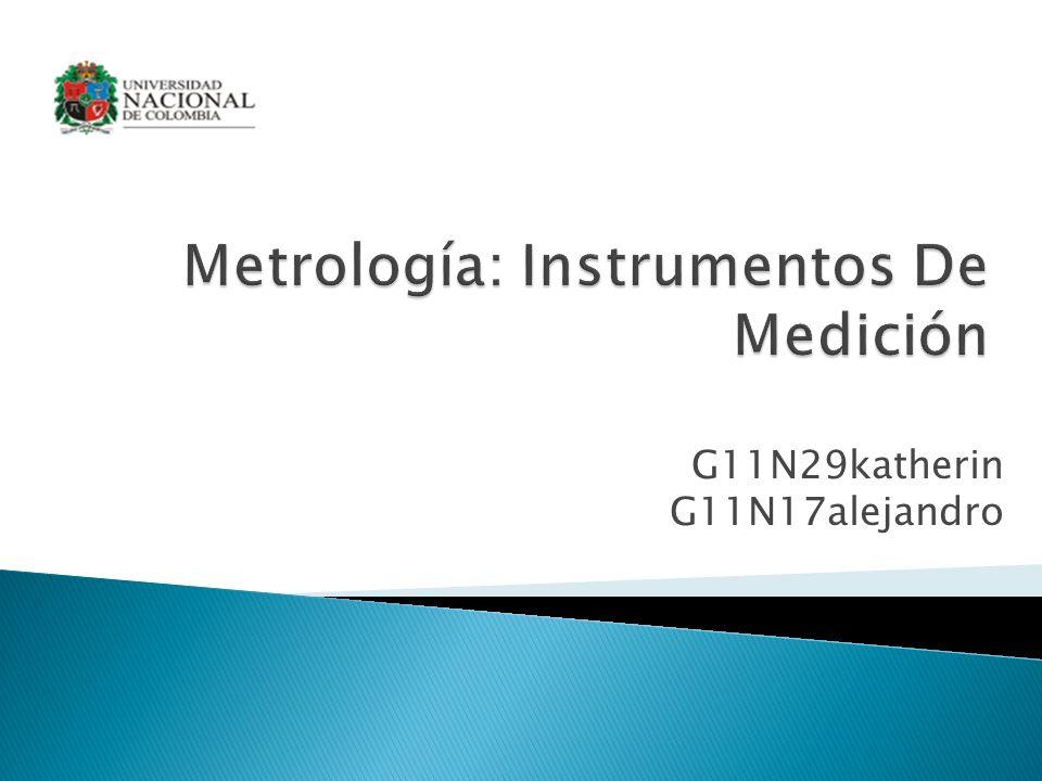 Metrología: Instrumentos De Medición