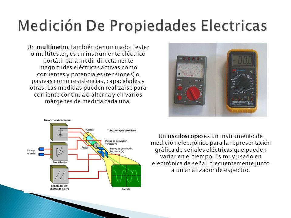 Medición De Propiedades Electricas