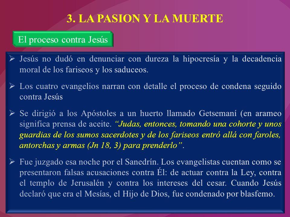 El proceso contra Jesús