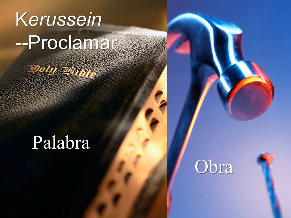 Kerussein --Proclamar