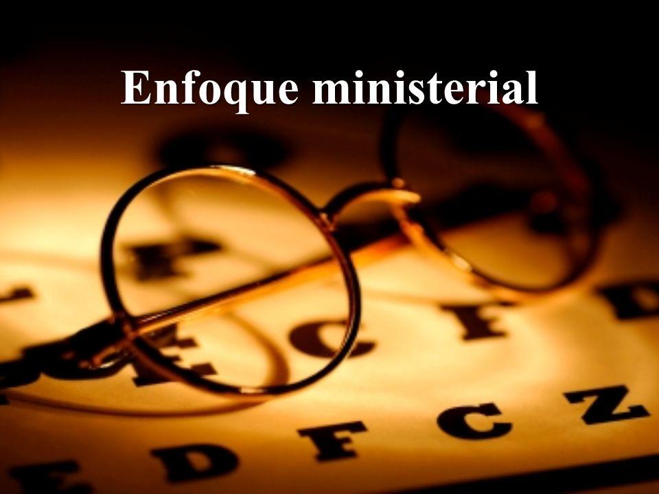 Hoja suelta: Enfoque Ministerial
