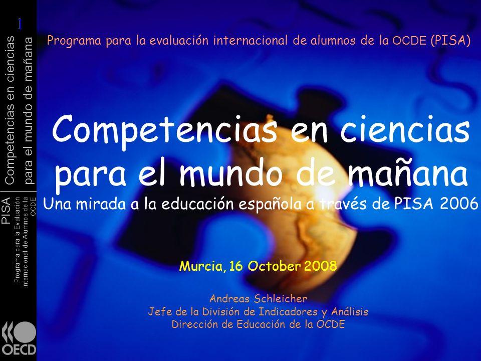Programa para la evaluación internacional de alumnos de la OCDE (PISA)