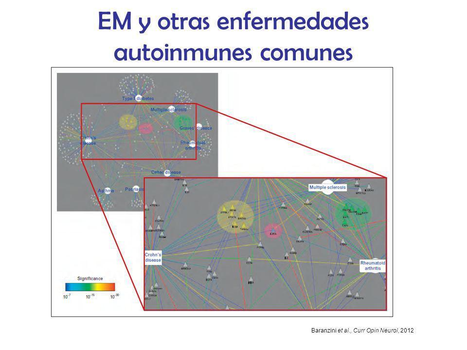 EM y otras enfermedades autoinmunes comunes