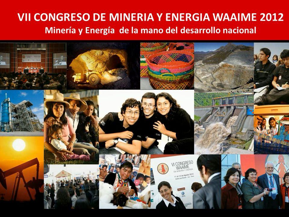 VII CONGRESO DE MINERIA Y ENERGIA WAAIME 2012