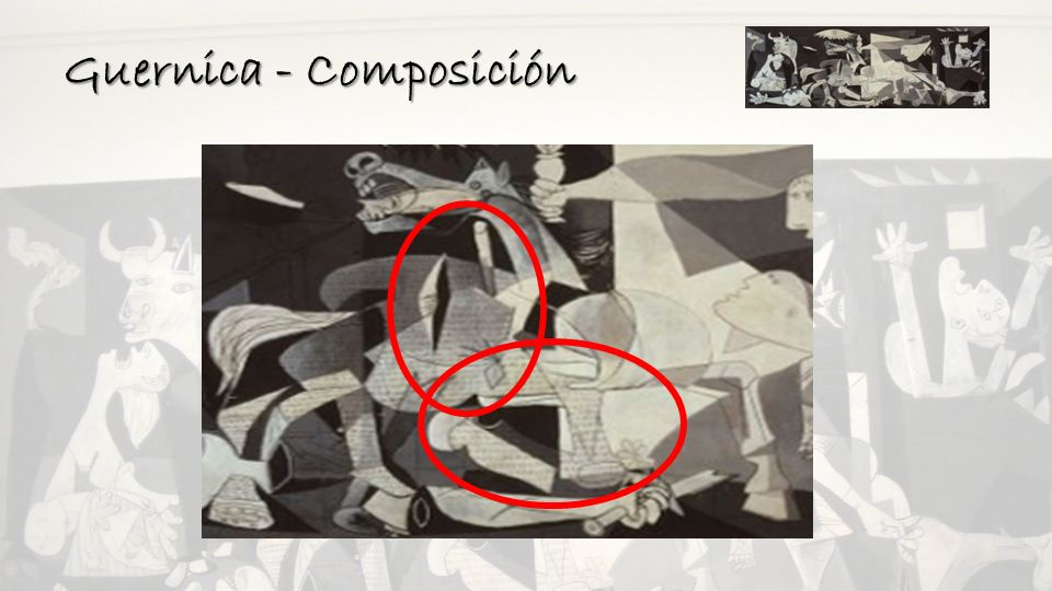 Guernica - Composición