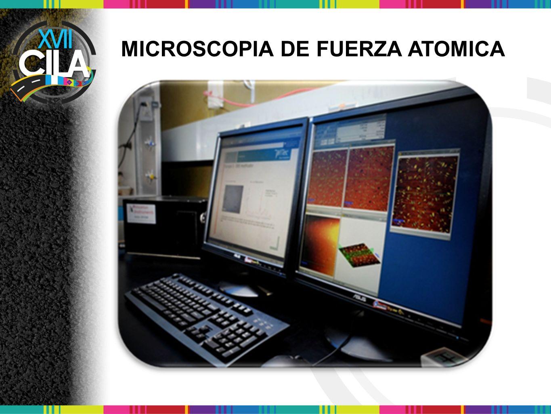 MICROSCOPIA DE FUERZA ATOMICA