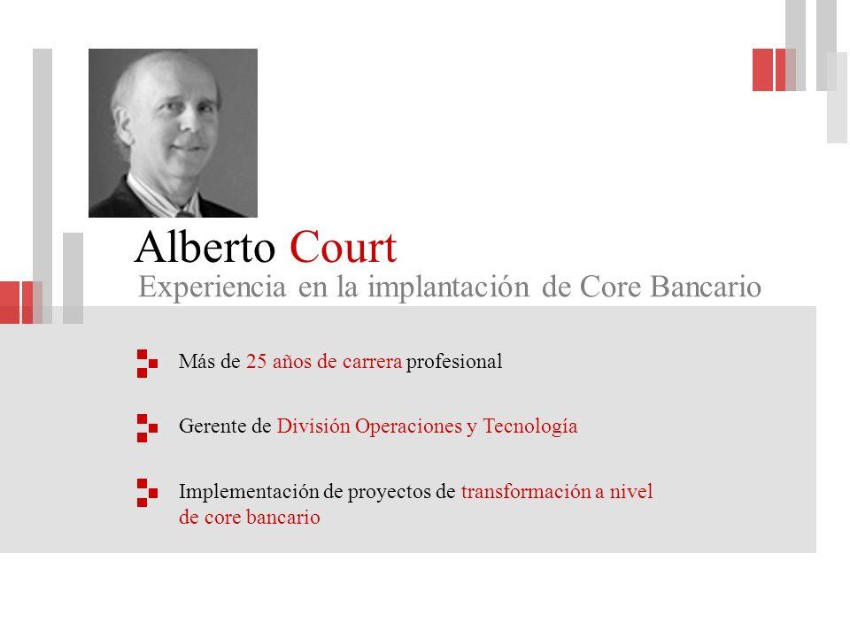 Alberto Court Experiencia en la implantación de Core Bancario