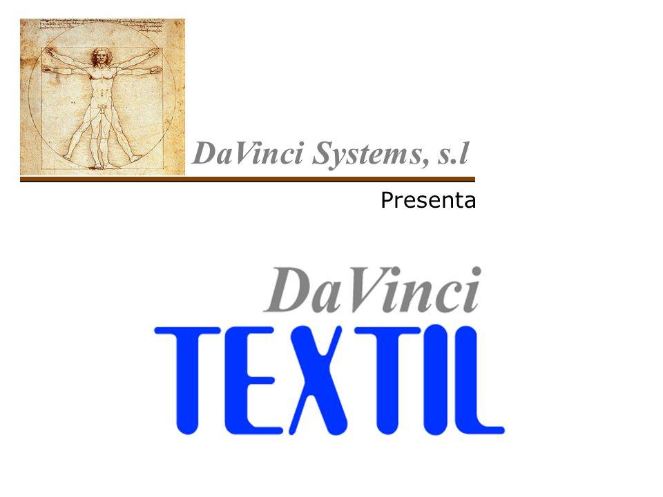 DaVinci Systems, s.l Presenta