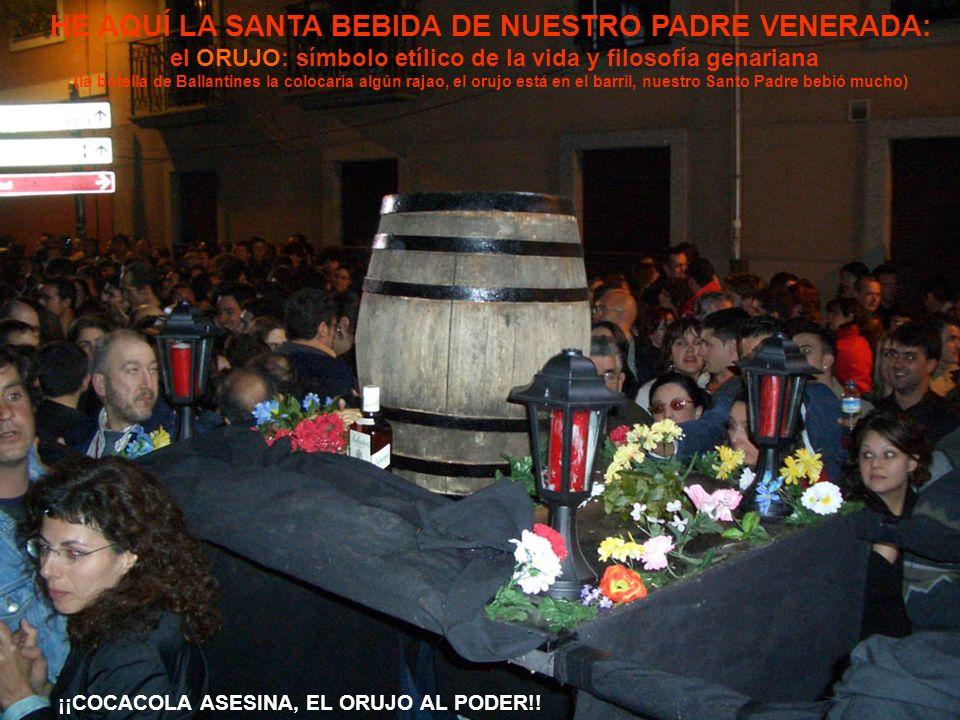 HE AQUÍ LA SANTA BEBIDA DE NUESTRO PADRE VENERADA: