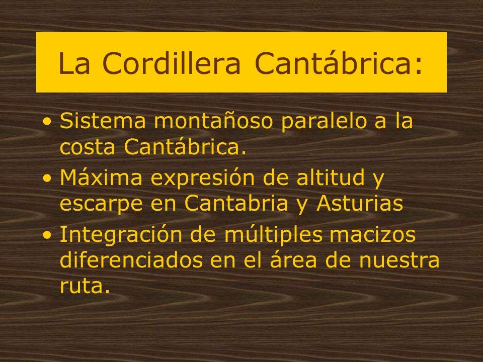 La Cordillera Cantábrica: