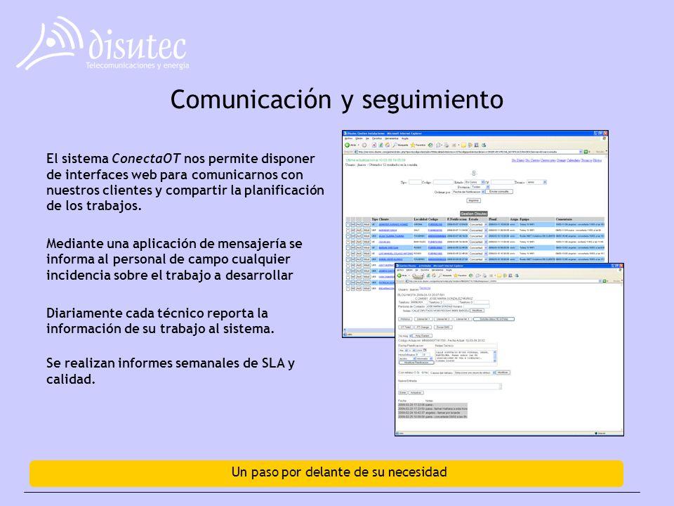 Comunicación y seguimiento