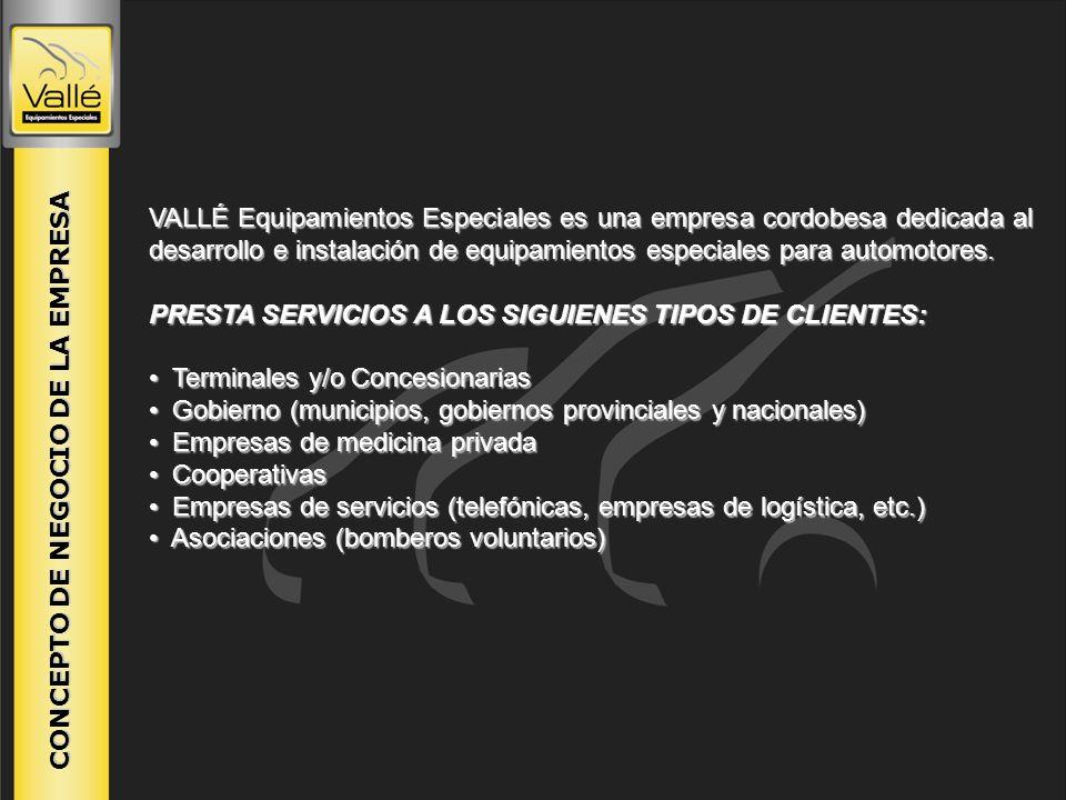 PRESTA SERVICIOS A LOS SIGUIENES TIPOS DE CLIENTES: