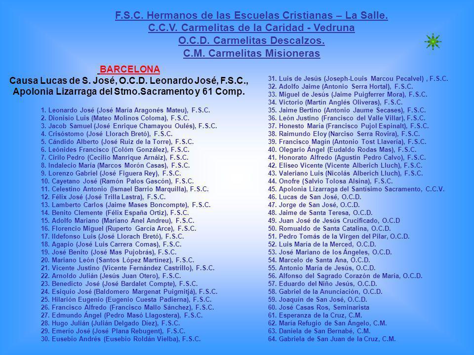 F.S.C. Hermanos de las Escuelas Cristianas – La Salle.