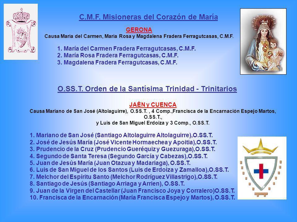 C.M.F. Misioneras del Corazón de María