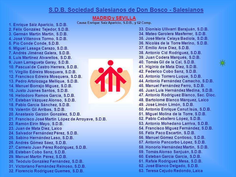 S.D.B. Sociedad Salesianos de Don Bosco - Salesianos