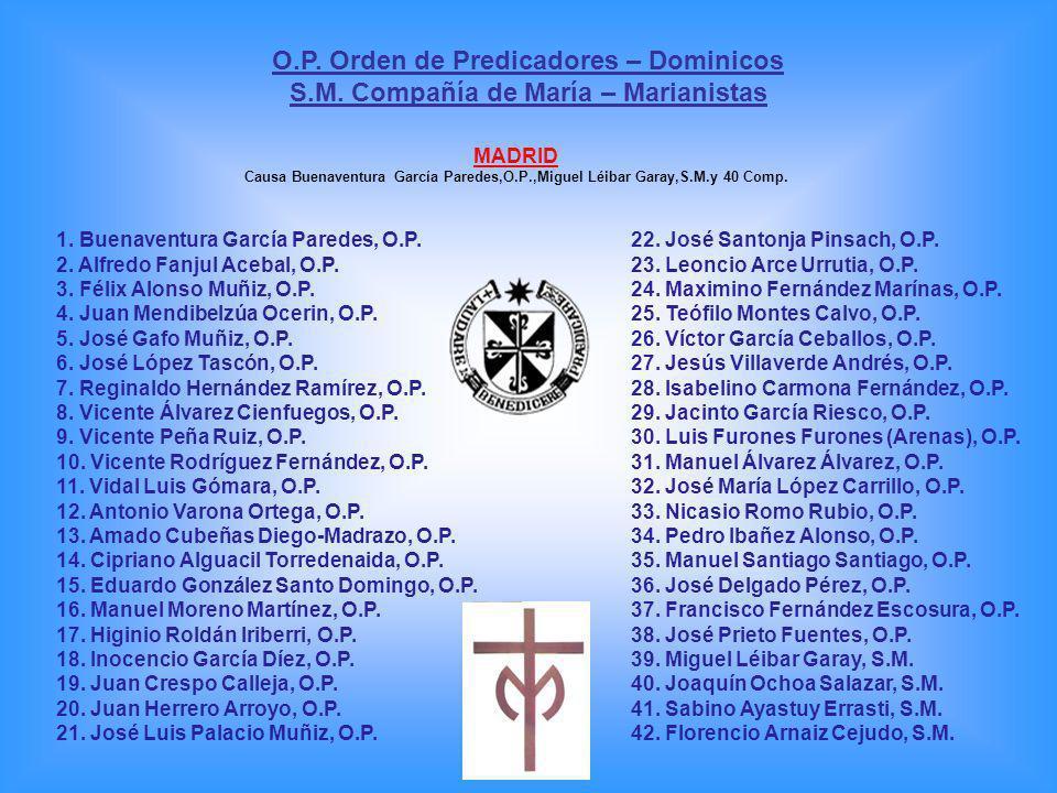 O.P. Orden de Predicadores – Dominicos