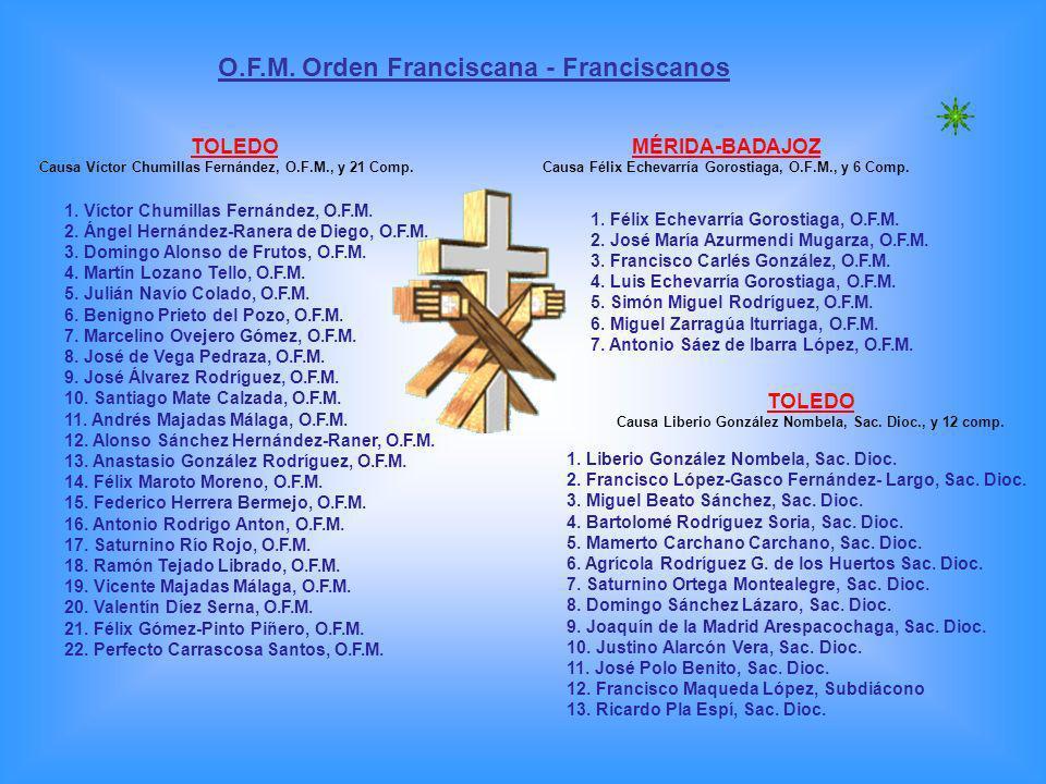 O.F.M. Orden Franciscana - Franciscanos