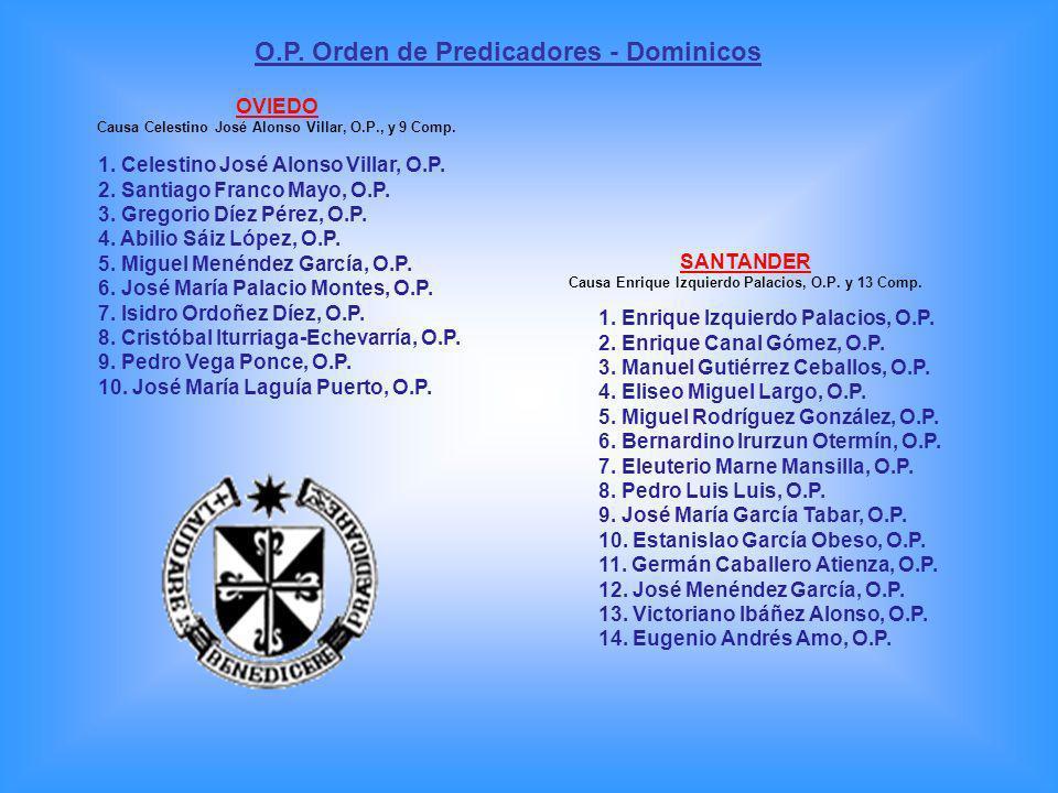 O.P. Orden de Predicadores - Dominicos