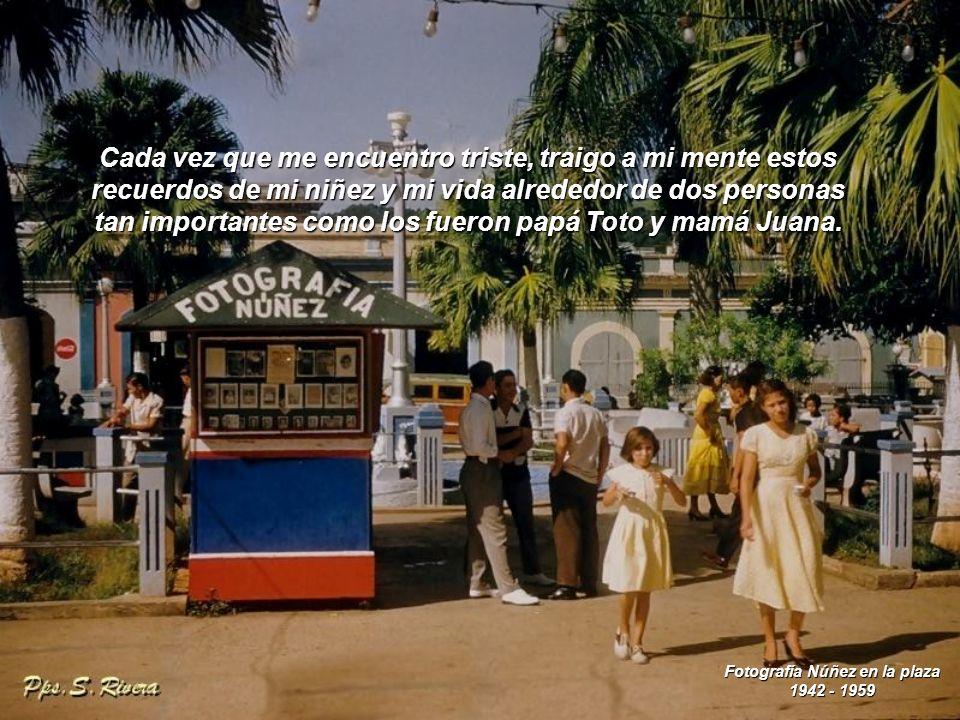 Fotografía Núñez en la plaza