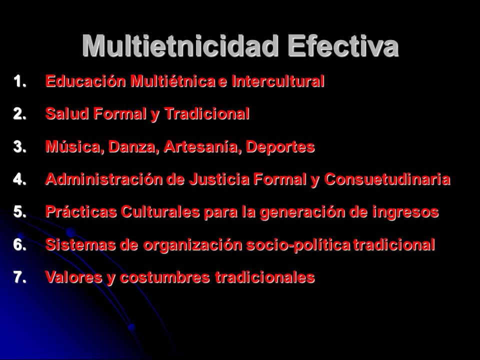 Multietnicidad Efectiva