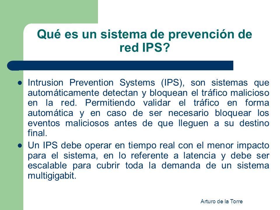 Qué es un sistema de prevención de red IPS