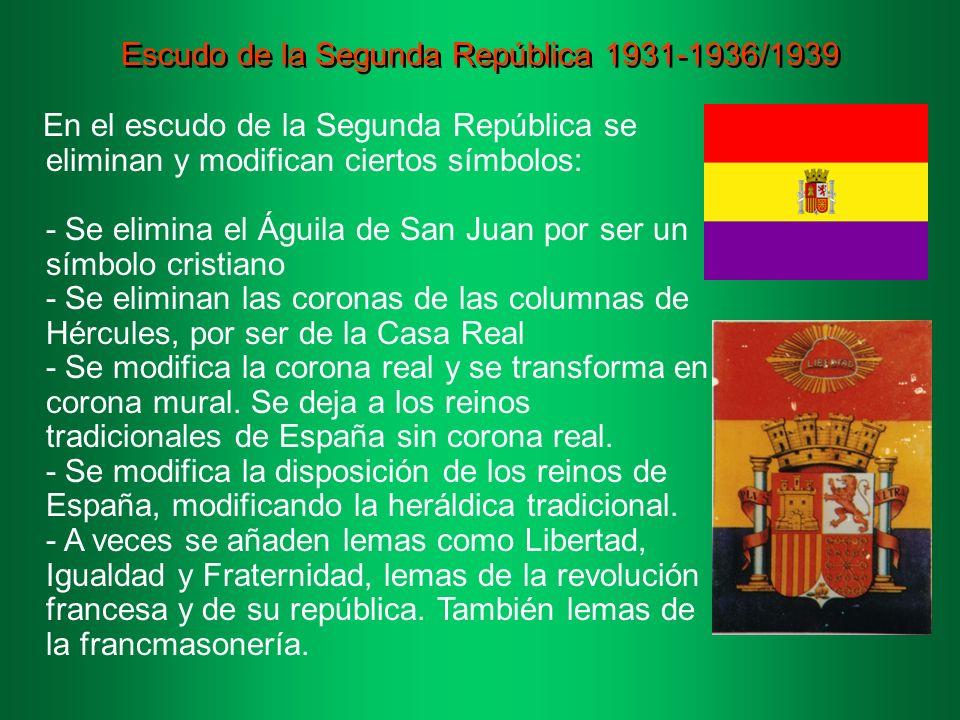 Escudo de la Segunda República 1931-1936/1939