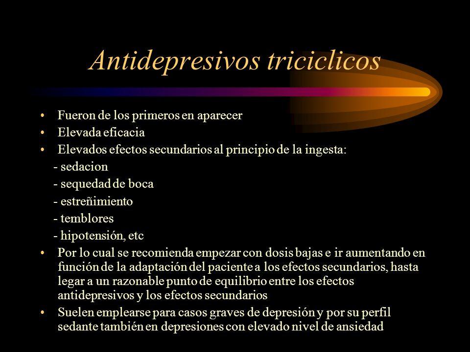Antidepresivos triciclicos