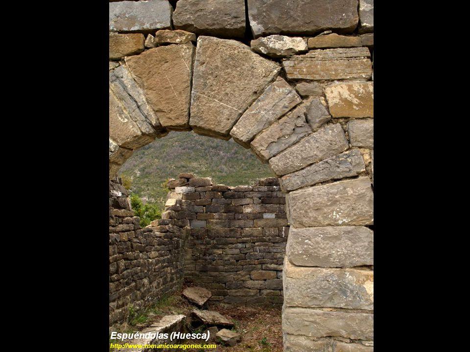 Espuéndolas (Huesca) http://www.romanicoaragones.com