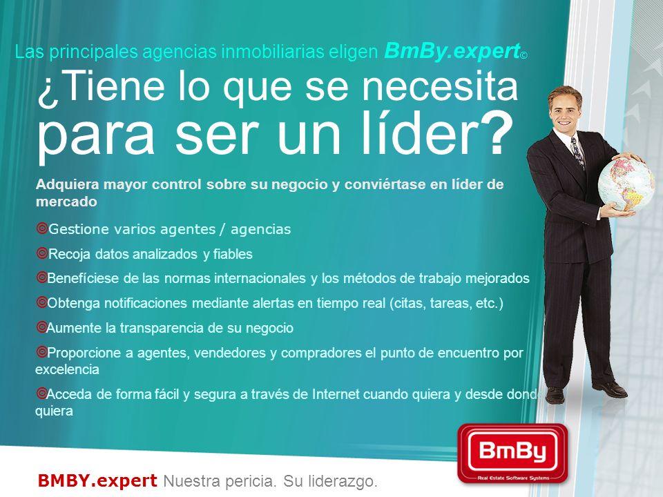 Las principales agencias inmobiliarias eligen BmBy.expert©