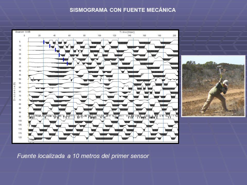 SISMOGRAMA CON FUENTE MECÁNICA