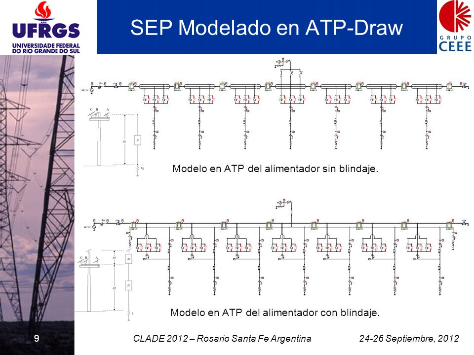 SEP Modelado en ATP-Draw