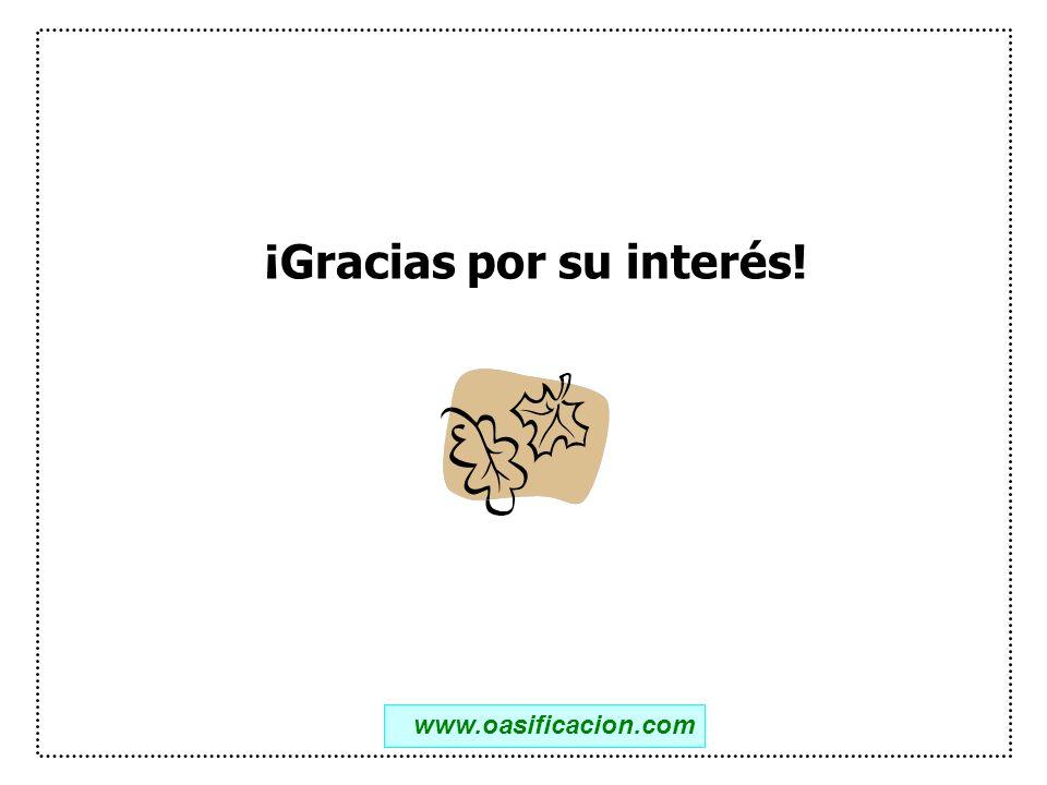 ¡Gracias por su interés!