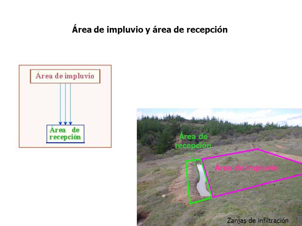 Área de impluvio y área de recepción