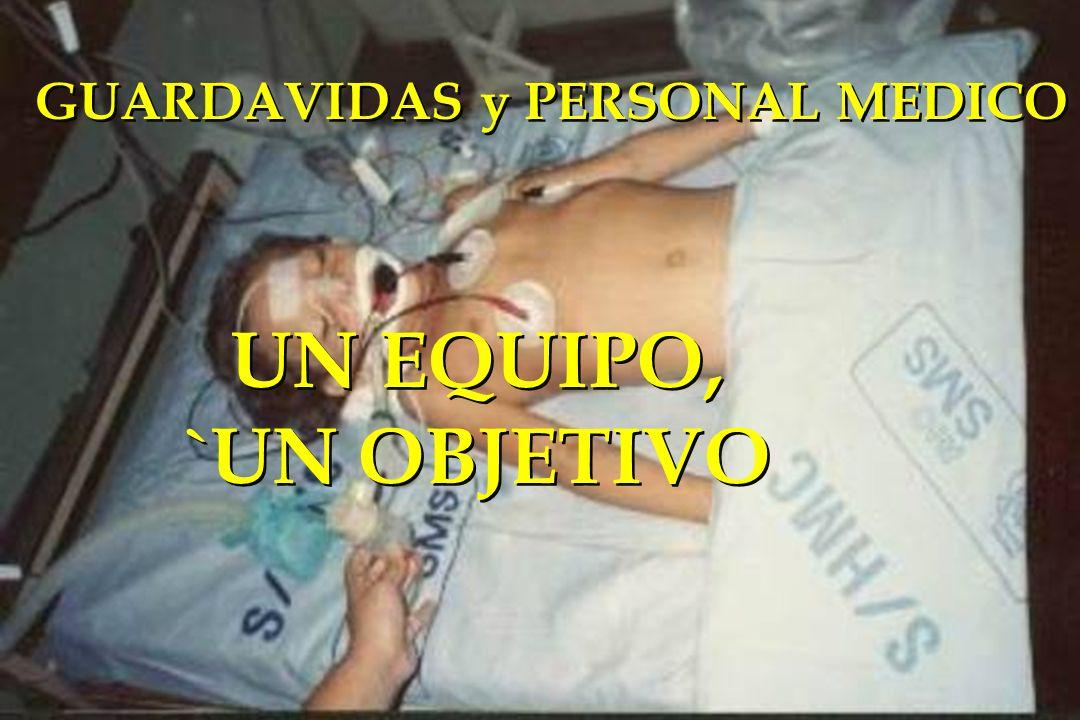 GUARDAVIDAS y PERSONAL MEDICO