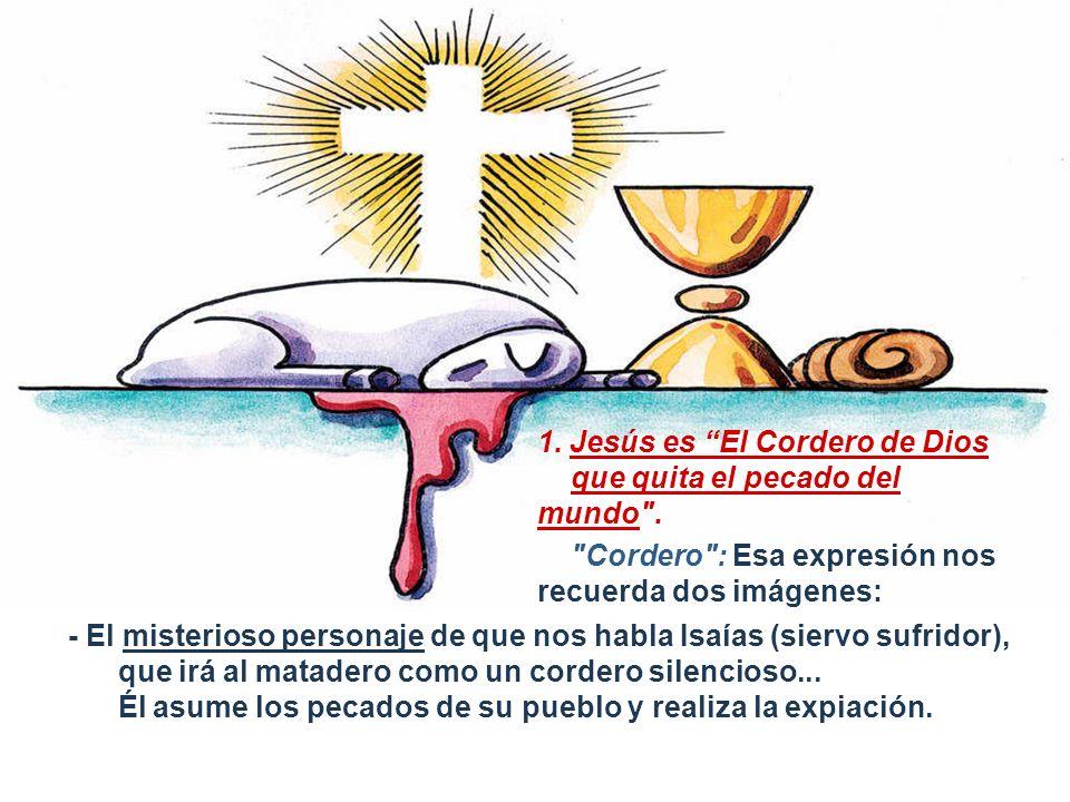 1. Jesús es El Cordero de Dios